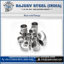 Grosor de pared pesado Codos de acero inoxidable y accesorios de tubería de soldadura a tope