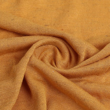 Knitted Coarse Needle Linen Jersey Fabric For Garment