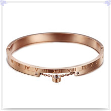 Stainless Steel Jewelry Crystal Jewelry Fashion Bangle (BR569)