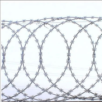 Flat Wrapped Razor Wire
