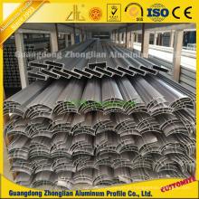 Perfil de alumínio de limpeza angular de alumínio para construção de planta livre de poeira