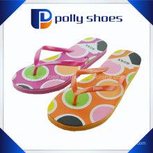 Wholesale Fashion PVC Upper EVA Women Slipper