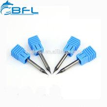 Herramientas de corte de metal duro BFL / Herramientas de corte de molino de extremo de diámetro micro CNC