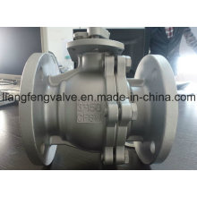 API 2 PC Ball Valve Stainless Steel with Flanged