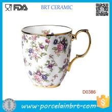 Old Country Rose 1940-English Taza de cerámica de color Chintz