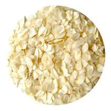 Floco de alho desidratado novo branco da colheita