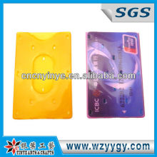 promotional hard pp credit card holder for woman