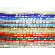 beautiful crystal glass rectangle beads