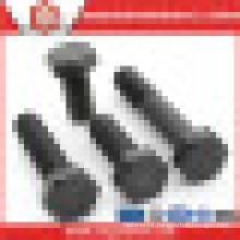 Black Finish A325 M16 Gr 8.8 Half Thread Hexagon Head Bolt