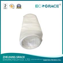 Flüssigkeitsfilterbeutel Polyester Faser Filterbeutel für Lebensmittel und Getränke Fabrik