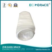 Sac à filtre liquide Sac à filtre en fibre de polyester pour usine de nourriture et de boissons