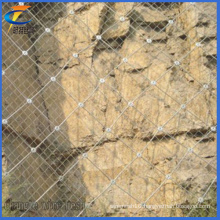 Slope Protection Netting with Diamond