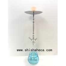 New Design Aluminium Shisha Glass Hookah