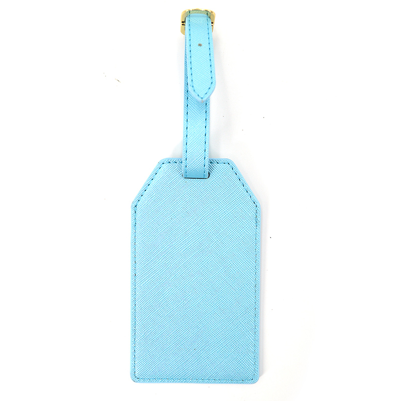 Custom Logo Travel Pu Leather Luggage Tag