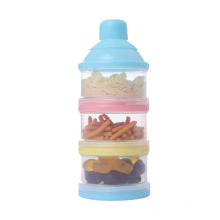 Baby Formula Dispenser Baby Food 3 layers Milk Powder Container