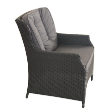Cadeira de Rattan ao ar livre do PE de alumínio alta qualidade