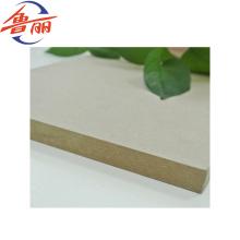 Wood Fiber Material plain/raw MDF/HDF board 1220*2440mm