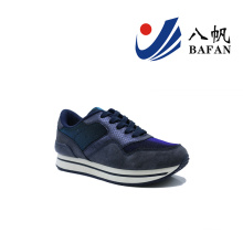 Homens moda casual tênis de corrida plana (bfj42011)