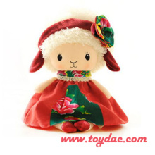 Plush Holiday Doll