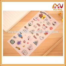 Autocollant de décoration pour ordinateur portable d'expression de lapin charmant, nouveaux produits sur le marché de la Chine