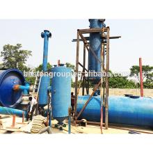 gestión de residuos planta de aceite de neumático de desecho de planta de pirólisis de neumático de 10 toneladas