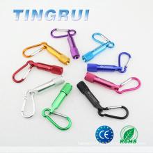 Best Aluminium promotional mini led torch keychain