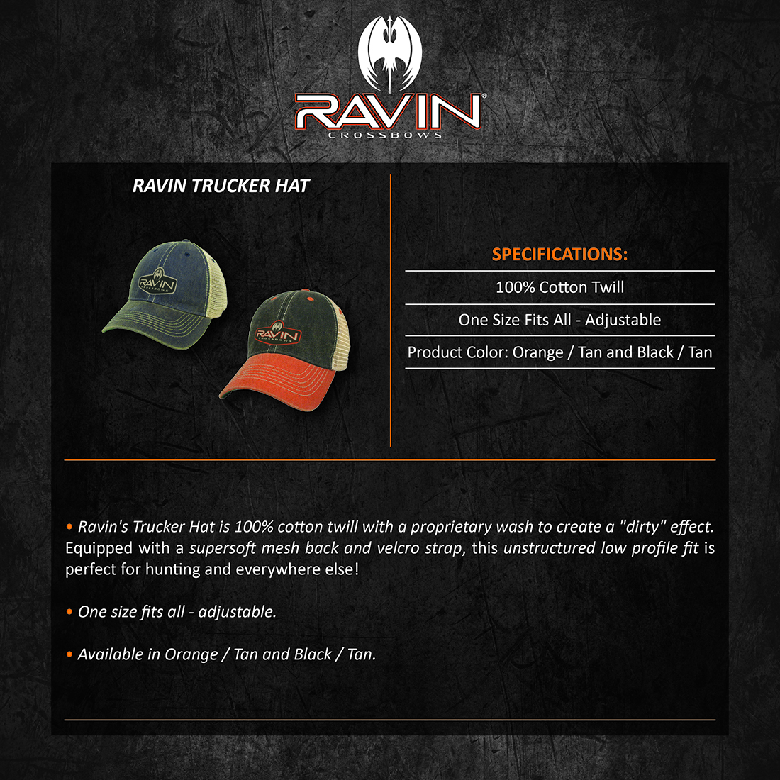 Ravin_Trucker_Hat_Product_Description