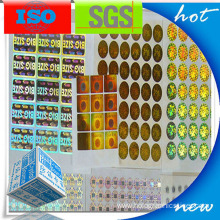 3d Custom Self Adhesive Sticker Label