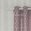 2016 neue Ankunft hoher Geschmack ovaler Entwurf 100% Polyester-Leinen wie Jacquardvorhang