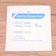 Sterile Medical Disposable Non-Woven Gauze Pads for Frist-Aid
