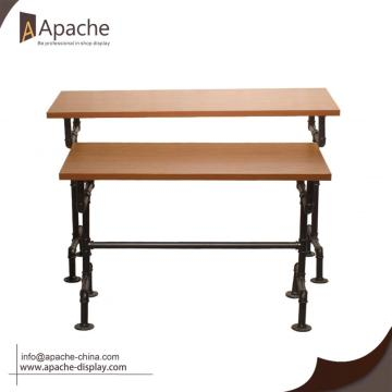 Multi-size Industrial Display Table for Clothing Store
