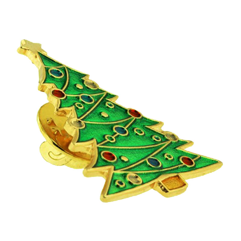 Christmas Tree Lapel Pin 1