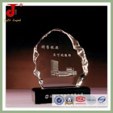 Hot Selling Unique Design Cheap K9 Crystal Trophy (JD-CB-314)