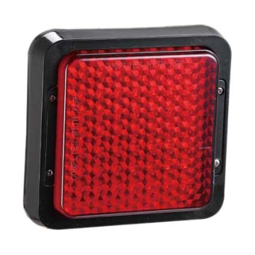 Imperméable Rendering Truck Stop Tail Lights