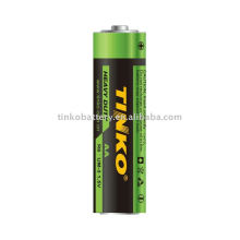 Carbon zinc battery R03P size AAA