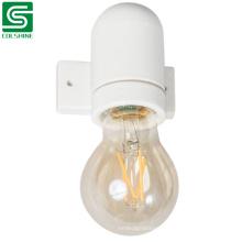White Color Hot Sale porcelain E27 Vintage Lampholder for Wall Lamp