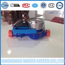 Medidor de água digital com válvula de motor