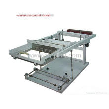 single manual bottle screen printing machine