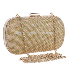 Sparkling Gold Women's Evening Dinner Clutch Bag Bride Bag For Wedding Evening Party Bridal HandBags B00136 box clutch bags