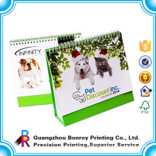 China made good quality hot sales favorite custom colorful pet dog calendar printing