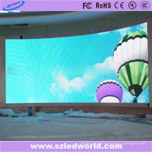 Indoor Arc Full Color SMD Fixed Curved LED Display Panel Board Screen Factory Advertising (P3, P4, P5, P6)