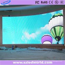Дуги крытый полный Цвет SMD фиксированных Изогнуло экран дисплея водить доски панели Фабрика рекламы экрана (Р3, Р4, Р5, Р6)
