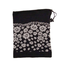 Wholesale promotional non-pilling black white solid color cheap price polar neck warmer