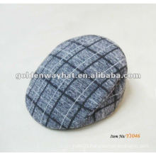 Cheap winter plaid ivy cap for kids