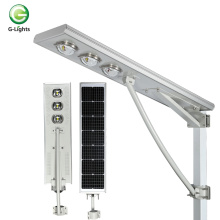 Farola solar led todo en uno integrada ip65 150w