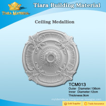 Great Stability Polyurethane PU Carved Ceiling Medallion with Fashion Designs