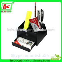 handmade paper stationery set, paper clip stationery set pen holder