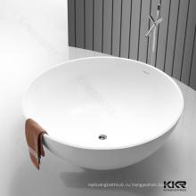 Горячей формы серый полимерный камень большой ванной товары для дома
