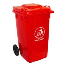 100 Liter Outdoor Kunststoff Abfalleimer (YW0016)