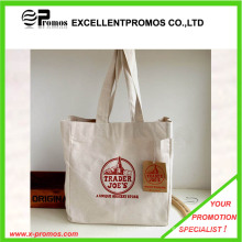 Best Selling Logo Printed Top Quality Custom Cotton Bag (EP-B9089)